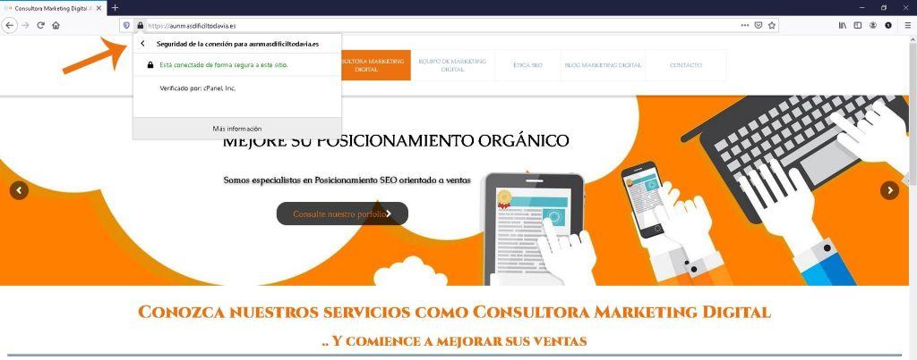 Claves para saber si una pagina web es segura para comprar certificado