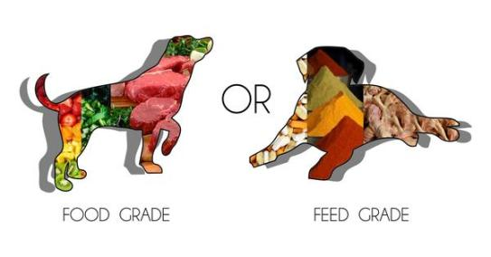 food grade vs feed grade
