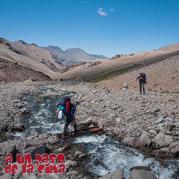 Cerro Plomo: Refugio Federación – Valle Nevado