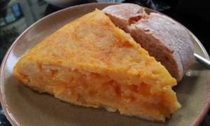 Tortilla de Cafetería El Olivo