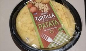 Tortilla de Mercadona