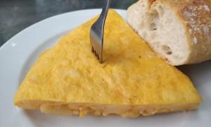 Tortilla de La Parra