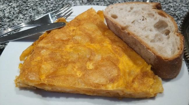 Tortilla de Cafetería Vanessa
