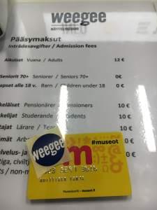 weegee, museokortti, museum, Espoo, EMMA