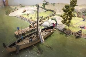 Rosala, Viikinkikeskus, historia, merenkulku
