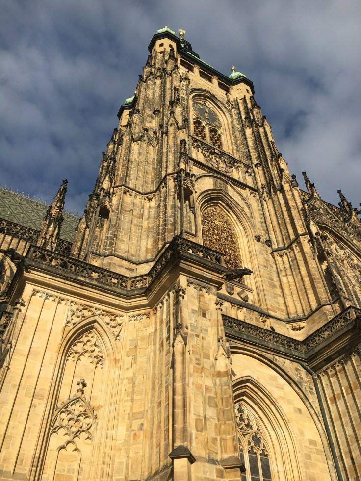 IMG_6927, Praha, Prahan linna, St. Vitus, katedraali, kaupunkiloma, näköala, turistirysä