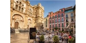 Málaga, Andalucía, Espanja, Picasso, historia, Aurinkorannikko
