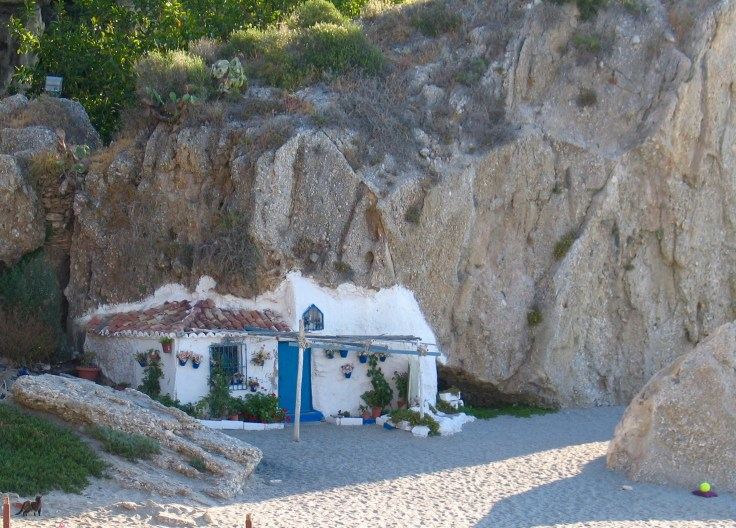 IMG_3604, rantaloma, Costa del Sol, Andalucía, Espanja, Nerja