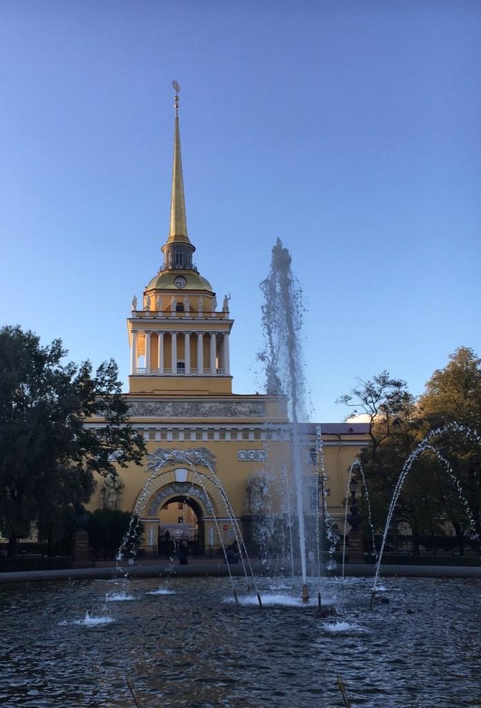 Amiraliteetti, Pietari, suihkulähde, Venäjä