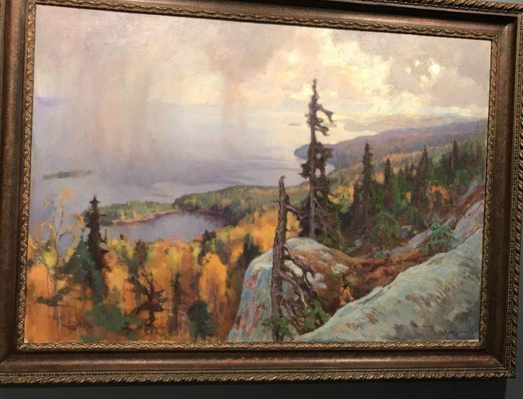Luontokuva, Koli, Järnefelt, Järvenpään taidemuseo