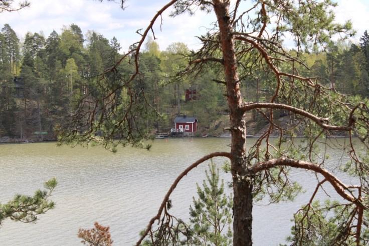 Tuusulanjärvi, Sarvikallio, Järvenpää