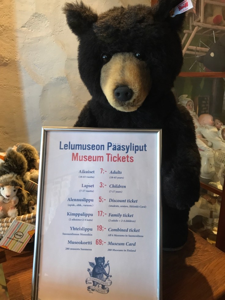 Suomenlinnan Lelumuseo, Suomenlinna, museo, museokortti