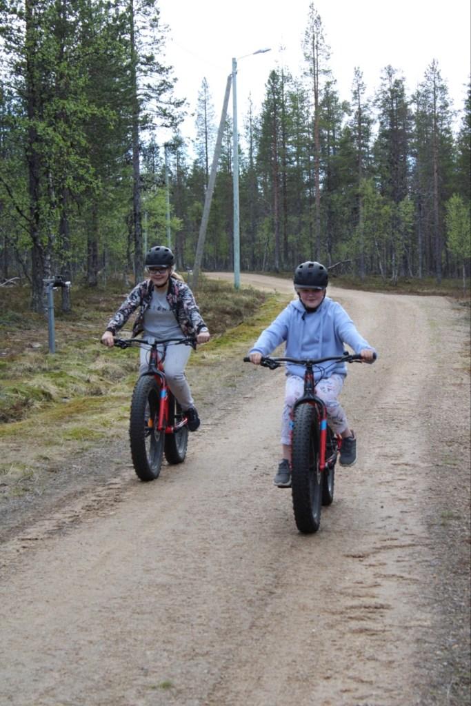 Fatbike Saariselkä, Lapland Safaris, fättäily