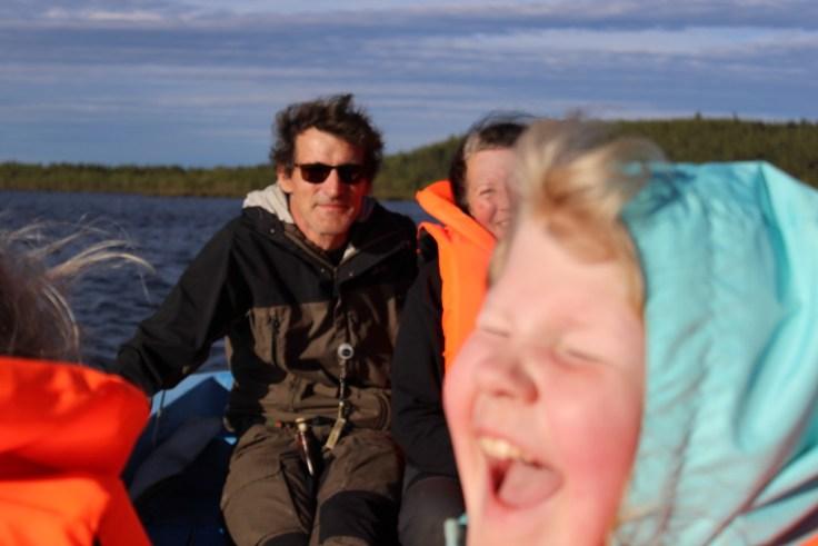 Giellajohka, Inari, Aksujärvi, Lappi, kalastus