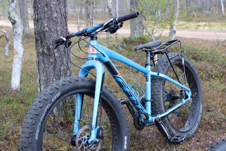 Fättäily, fatbike, Saariselkä, Lapland Safaris