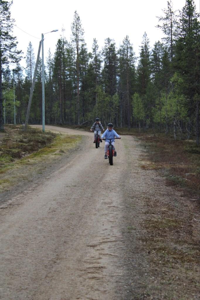 Fatbike, Saariselkä, Lapland Safaris, Explore Inari, fättäily