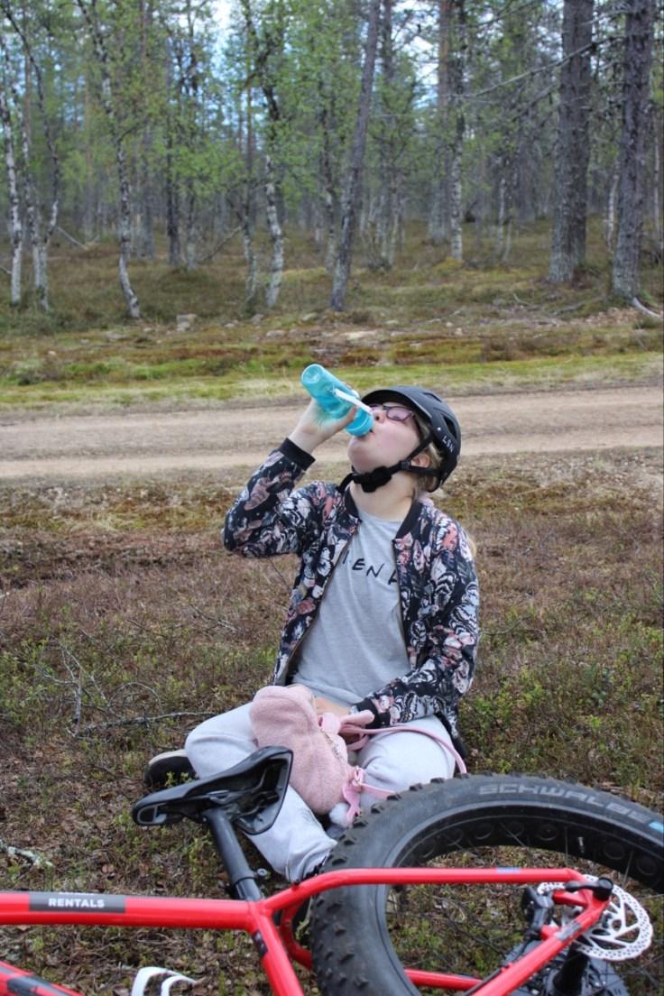 Fatbike, Saariselkä, fättäily, Explore Inari