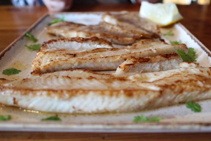 Giellajohka, paistettu kala, ahven, hauki