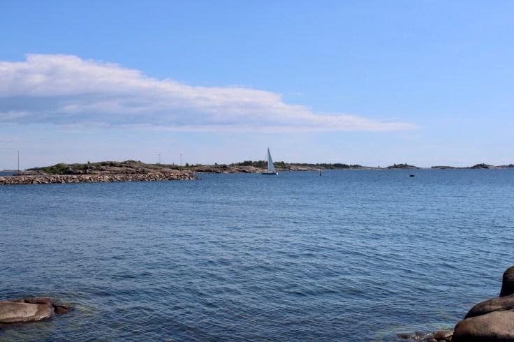 Hanko, Tulliniemen luontopolku, Itämeri, eteläinen kärki