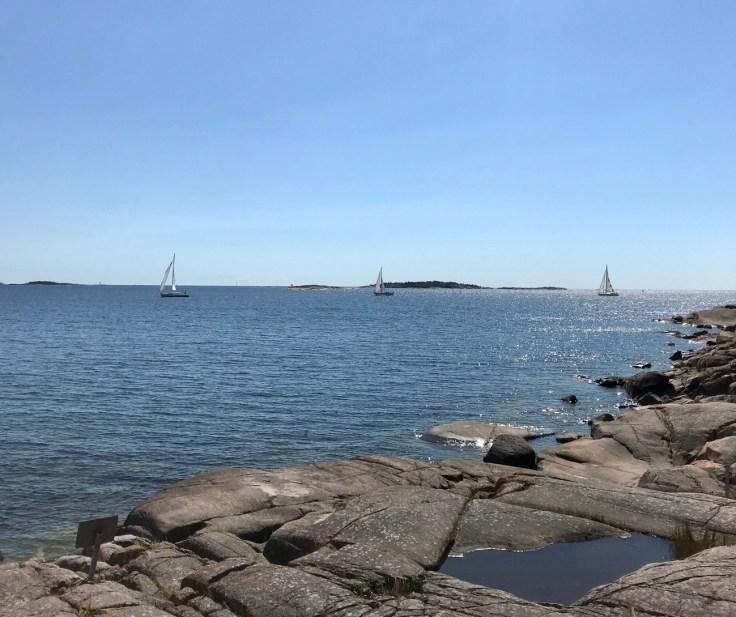 Hanko, Itämeri, meri, Hankoniemi, Tulliniemi, luontopolku