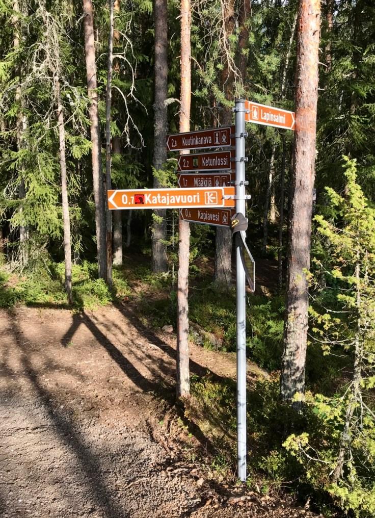 Repoveden kansallispuisto, Lapinsalmi, Ketunlenkki