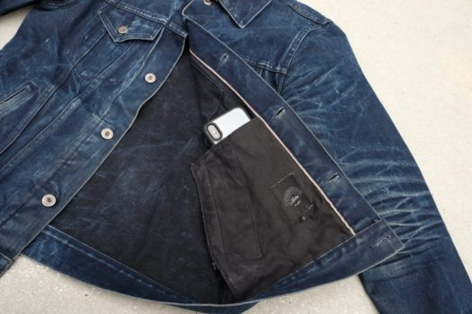Secret interior phone pocket!