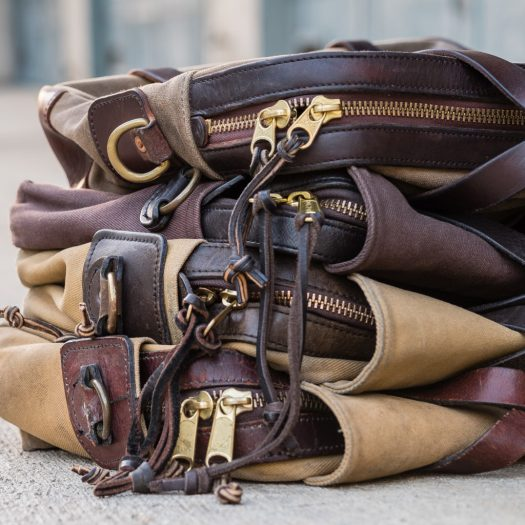 Vermilyea Pelle leather pulls compared to Filson's