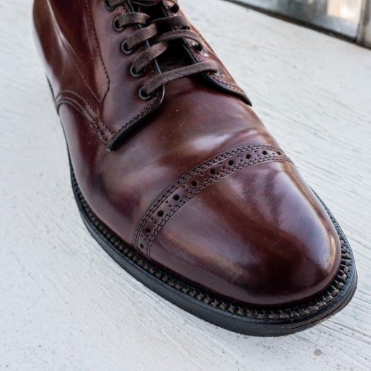 Alden x JCrew Color 8 Shell Cordovan Captoe Boot