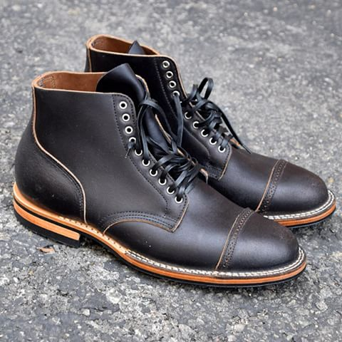 "Viberg x Palmer Trading Co ""Bad Seed"" Waxed Flesh brand new before wearing."
