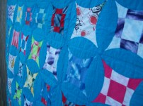 October quilt close-up