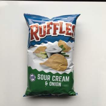 Ruffles Sour Cream & Onion 184g From Auntie ammies American Candy Shop