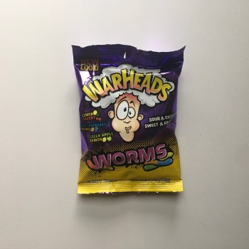 Warheads Worms (142g) From Auntie Ammies american Candy Shop