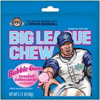 Big League Chew Bubble Gum Cotton Candy From Auntie Ammies American Candy Shop