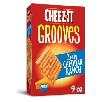 Cheez It Grooves Zesty Cheddar Ranch - 9oz (255g)