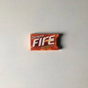"Dentyne Fire ""Spicy Cinnamon"" is a cinnamon-flavored sugarless gum.  Spicy Cinnamon is the flavor most similar to the original Dentyne Gum."