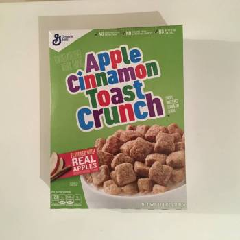 Apple Cinnamon Toast Cereal (314g) From Auntie ammies Candy Shop