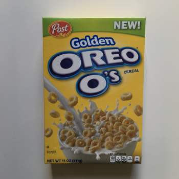 Golden Oreo O's Cereal (311g) From Auntie Ammies American Candy Shop
