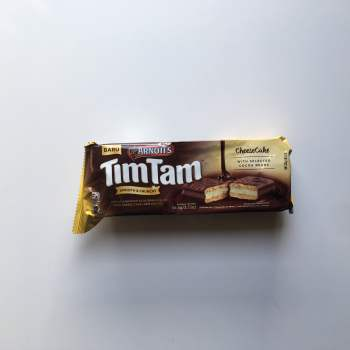 Tim Tam Biscuit Cheesecake 94g from Auntie Ammies American Candy Shop