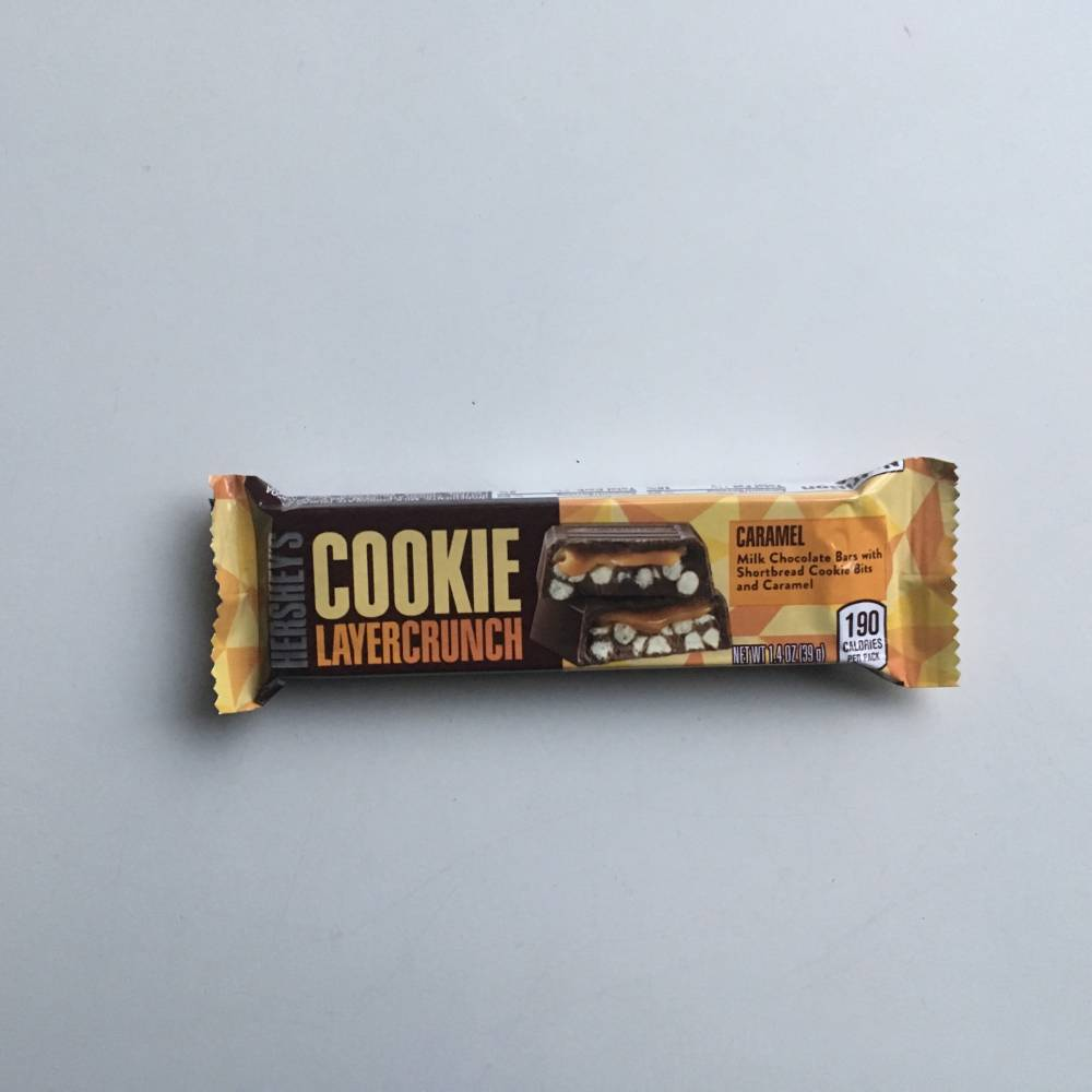 Auntie Ammies Candy Shop American Candy Uk New Arrivals American Chocolate Hersheys Hersheys Cookie Layer Crunch Caramel 39g