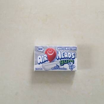 AirHeads Gum White Mystery with Micro candies. From Auntie Ammies Candy Shop