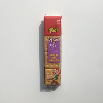 Keebler PB n J Sandwich Crackers 1.8OZ FromAuntie Ammies American Candy Shop