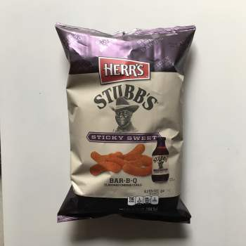 Stubbs Sticky Sweet Bar-B-Q Curls from auntie ammies american Candy Shop