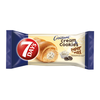 7 Days Cream & Cookies Vanilla & Cocoa Soft Filled Croissant - 110g