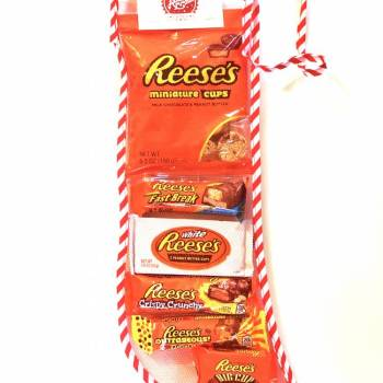 Reese's Christmas Stocking From Auntie Ammies Candy Shop