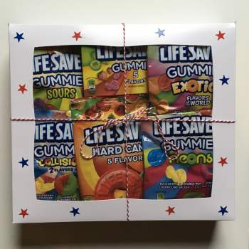 Lifesavers Gift Box from Auntie Ammies American Candy Shop