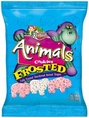 Keebler Animals Cookies Frosted (56g)