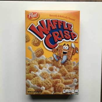 Post Waffle Crisp Cereal (326g) From Auntie Ammies Candy Store