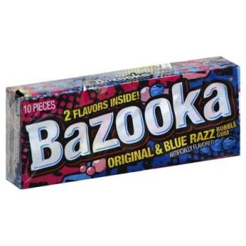 Topps Bazooka Throwback Mini Wallet 42g from Auntie Ammies American Candy Shop