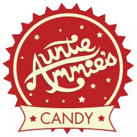 Auntie Ammie's American Candy Store logo