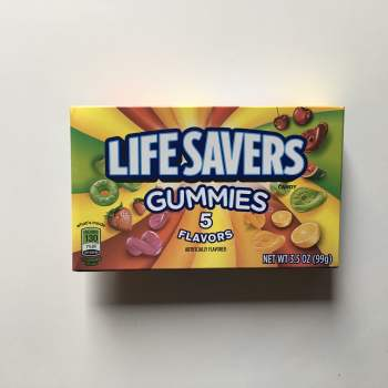 Lifesavers Gummies 5 Flavours (99g) from Auntie Ammies American Candy Shop